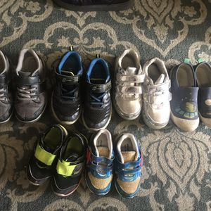 Price For All 6 Shoes.First Row Size 6 Second Row Size 11 for Sale in Los Angeles, CA