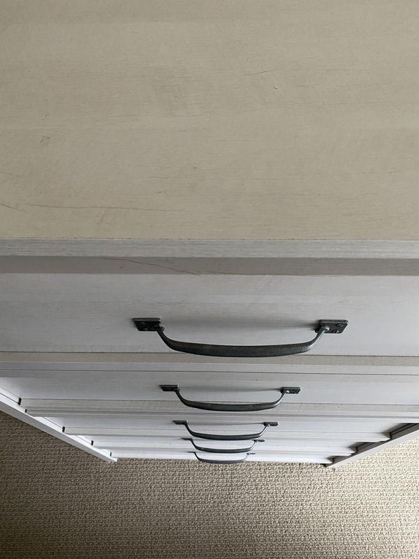 Tall Modern Dresser 5 Drawer