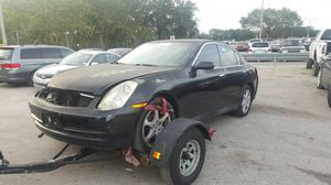 Infiniti g35 parts for Sale in Tampa, FL