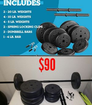 Exercise weights and equipment for Sale in Nipomo, CA