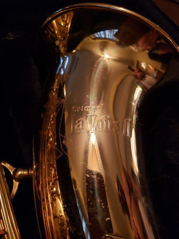 Saxophone. Selmer LA VOIX II,
