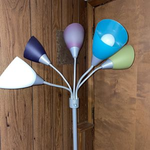 Flower Lamp With Five Sides for Sale in Hinsdale, IL