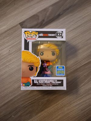 Funko Pop - Raj Koothrappali as Aquaman $35 (Big Bang Theory) for Sale in Industry, CA