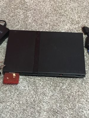 Broken Ps2 Slim with 8mb memory card for Sale in Glen Burnie, MD