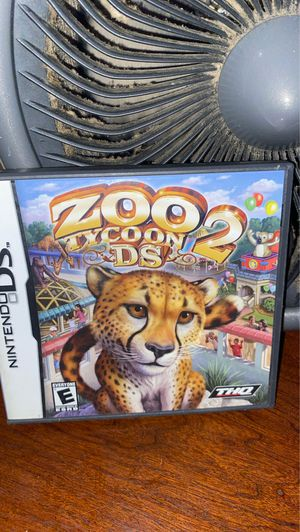 Zoo tycoons ds 2 for Sale in Overland, MO