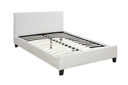 PLATFORM TWIN BED WHITE