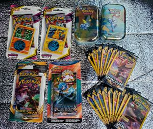 Official Pokemon booster packs/Tins for Sale in Riverside, CA