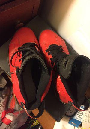 Red-and black Air Jordan shoes for Sale in Manassas, VA