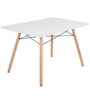 "White 44""x 28 Dining table green forest London's for Sale in La Vergne, TN"