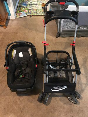 Click connect stroller & car seat for Sale in Marietta, GA