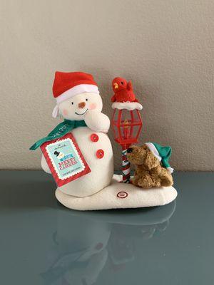 2013 Hallmark Jingle Pals Animated Musical Plush Snowman for Sale in Las Vegas, NV