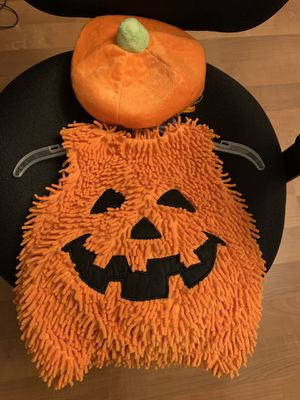 Baby Pumpkin Costume Size 3-6 months for Sale in Auburn, WA