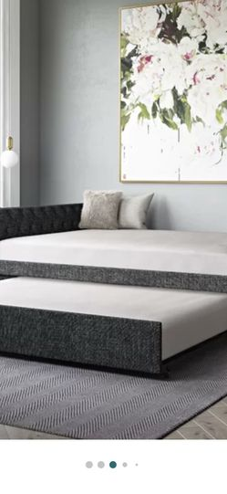 Daybed With Trundle (gray) for Sale in Spring Valley,  CA