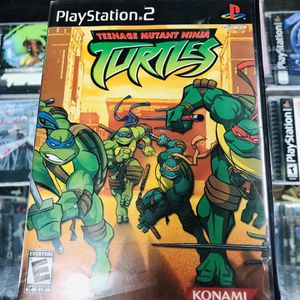 Teenage Mutant Ninja Turtles Ps2 $25 Gamehogs 11am-7pm for Sale in Commerce, CA