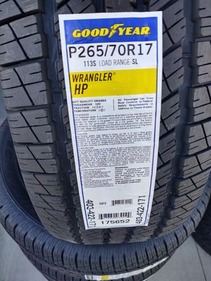 265/70/17 new tires price pick up firm for Sale in Montclair, CA