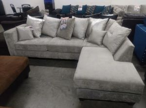 Grey sectional couch for Sale in Roswell, GA