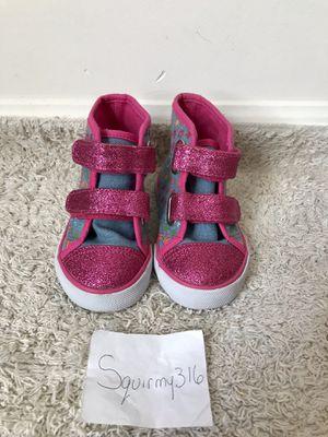 Sanrio Hello Kitty Pink Glitter Toddler Girls 6 Sneakers for Sale in Williamsburg, VA