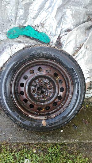 Brand new tire with rim 4 slug for Sale in Brockton, MA