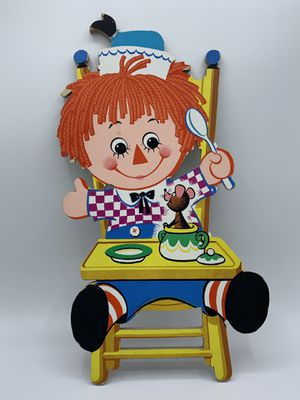 Vintage Raggedy Ann And Andy Wall Hangings for Sale in Los Angeles, CA