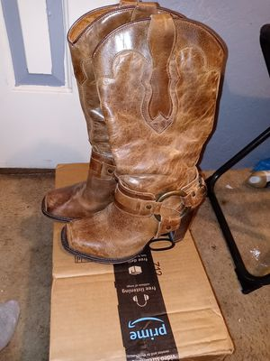 Justin high heel boots 6 1/2 for Sale in Auburndale, FL