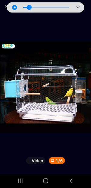 Bird cage, for small birds or hamsters for Sale in Riverside, CA