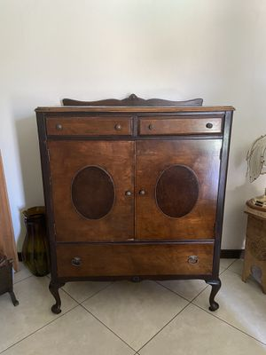 Antique cabinet small armoire for Sale in Whittier, CA
