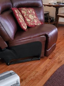 Older Model In Great Working Condition Treadmill . Brown Leather Wedge 5 mos old good condition for Sale in Ellenwood,  GA