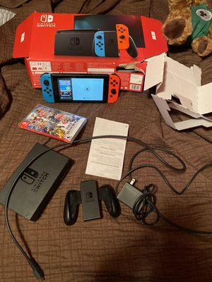 Nintendo switch opened box almost new for Sale in Billerica, MA