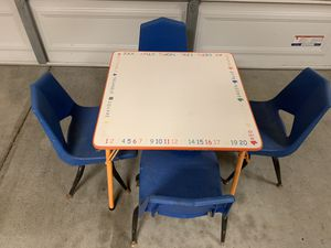 Kids table and chairs for Sale in Oceanside, CA