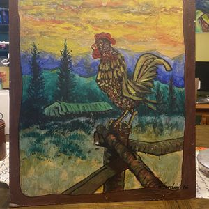 Rooster Painting for Sale in Arrington, VA