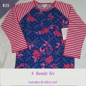 NWT LuLaRoe Randy Tee Size Small for Sale in Grand Prairie, TX