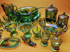 Huge carnival glass set for Sale in Louisville, KY