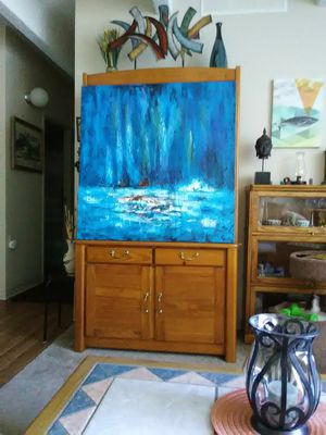 40x40 PAINTING ON CANVAS for Sale in Lakewood, CO