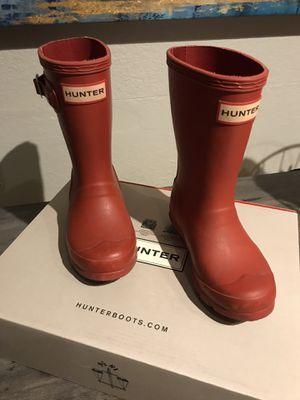 Kids Hunter Rain Boots size 10 for Sale in Tempe, AZ