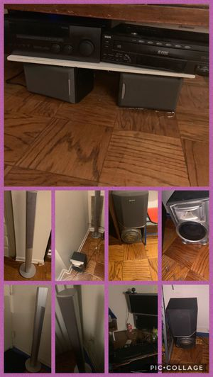 Stereo system and speakers and computer for Sale in Capitol Heights, MD