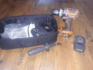 Ridgid brushless hammee drill for Sale in San Antonio, TX