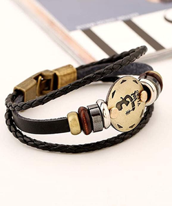 12 Constellations Multilayer Leather Bracelet, Virgo for Sale in Los Angeles,  CA