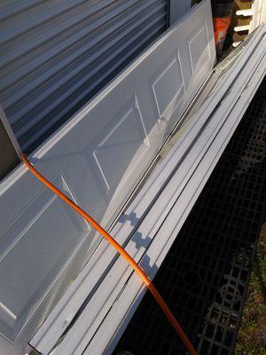 9 foot garage door panels for Sale in Chesapeake, VA