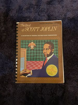 Scott Joplin collection of rag time piano composition for Sale in Key Biscayne, FL