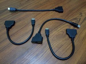 $5 ea Hdmi splitter cables 2 hdmi ports for Sale in Long Beach, CA
