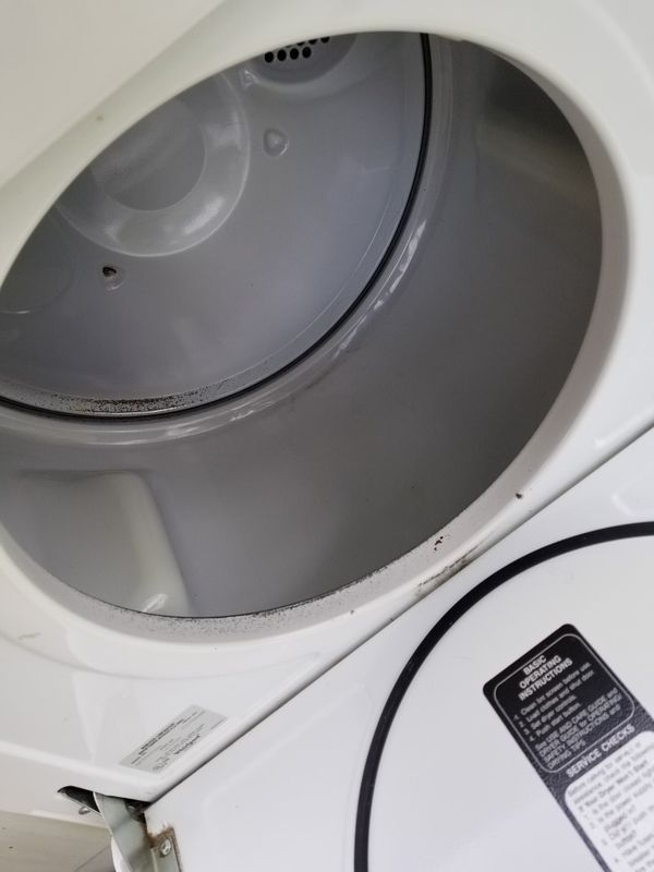 Older washer and dyer