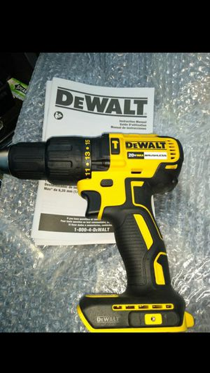 NEW Dewalt 20 Volt Brushless Hammer Drill Driver 20v Max xr BARE TOOL for Sale in Lexington, NC