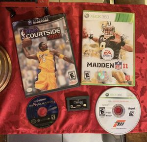 PlayStation, PlayStation 3 , Xbox 360 , GameCube , Wii , Xbox , Gameboy Advance Games for Sale in Miami, FL