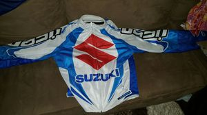 Suzuki motorcycle jacket for Sale in Milford, MA
