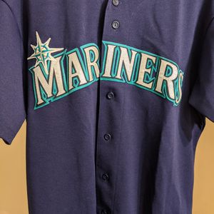 Seattle Mariners Baseball Jersey Large MLB Navy Blue for Sale in Chula Vista, CA