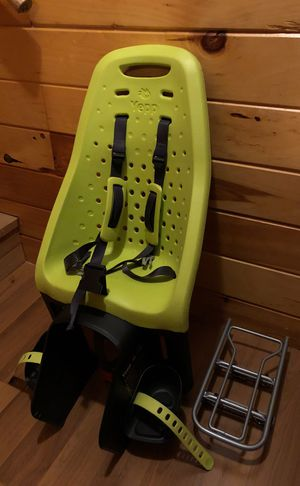 Yepp kids bicycle seat with two rack mounts for Sale in Cambridge, MA