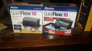 Aqueon Quiet Flow 10 Power Filters for Fresh/Saltwater Aquariums for Sale in Gladstone, OR