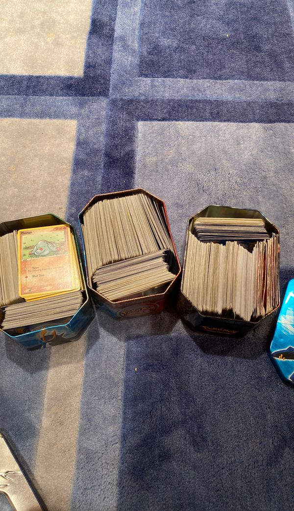 HUGE COLLECTION OF POKEMON 500+ CARDS RARE, HOLO, 1st edition