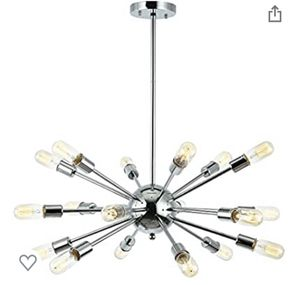 Sputnik Light Chandelier (Black) for Sale in Carlsbad, CA