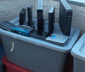 Modem and routers galore for Sale in Henderson, NV